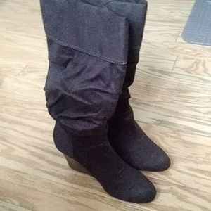 🌼Ra🌼mpage Fabric Women's WedgeBoots